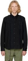 Sacai Black Denim Shirt