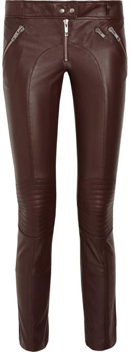 McQ Skinny leather pants