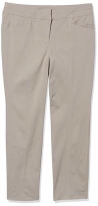 Briggs New York Women's Petite Split Waist Pant
