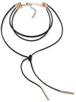 SUGARFIX by BaubleBar Wrap Choker Necklace - Black