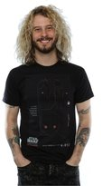 Star Wars Men's Rogue One K-2SO Schematic T-Shirt