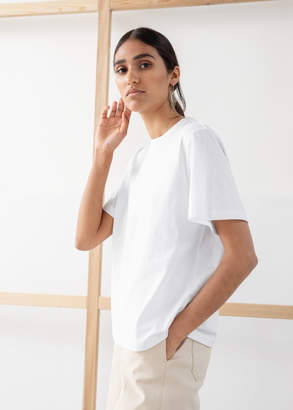 And other stories Boxy Organic Cotton Tee