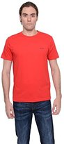 HUGO BOSS Hugoboss T-shirt with a Round Neckline 'Tee' Boss Green Mens (Large