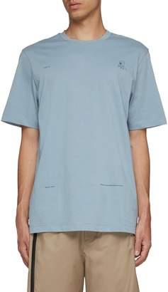 Oamc Slogan graphic print T-shirt