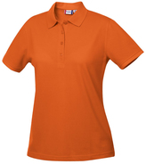 Clique Orange Elmira Polo - Plus