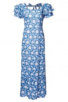 Pink City Prints - Sky Wallflower Seville Dress - Small