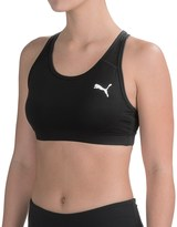 Puma Solid Sports Bra - Medium Impact (For Women)