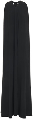 Victoria Beckham Pleated Crepe Gown