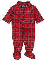 JCPenney Tom & Jerry® Plaid Jumpsuit - Boys preemie-9m