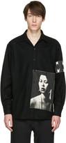 Enfants Riches Deprimes Black Checkered Graphic Shirt