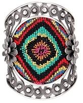 Valentino Garavani Beaded silver-tone bracelet