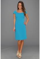Tahari by Arthur S. Levine Tahari by ASL - Vida Dress (Turquoise) - Apparel