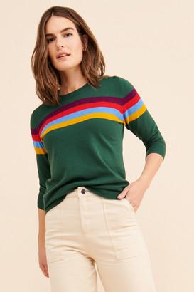 ModCloth Rainbow Pullover