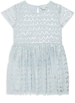 Stella McCartney Foil Detail Tulle Dress