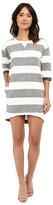 Culture Phit Kaya Striped Sweatshirt Dress