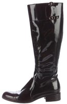 Fratelli Rossetti Buckle-Accented Patent Leather Boots