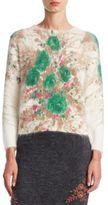Prada Printed Mohair Sweater