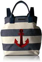 Tommy Hilfiger Aurora Anchor Stripe Backpack