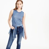 J.Crew Jackie shell in gingham