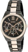 XOXO Women's Quartz Metal and Alloy Automatic Watch, Color:Two Tone (Model: XO294)