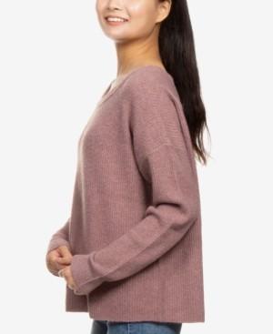 Hippie Rose Juniors' Boxy Sweater