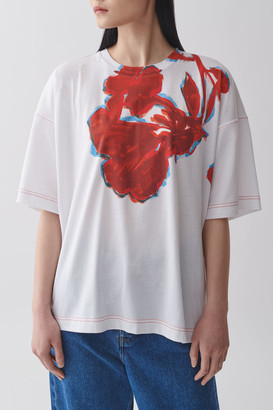 Cos Printed Organic Cotton T-Shirt