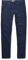 Incotex Slim-Fit Cotton-Seersucker Trousers