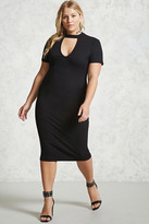 Forever 21 Plus Size Cutout Midi Dress