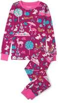 Hatley Girl's Woodland Tea Party Pajama Set