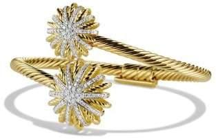 David Yurman Bracelet With Diamonds In 18K Gold
