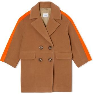 BURBERRY KIDS Colour Block Technical coat
