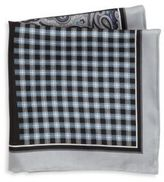 Saks Fifth Avenue COLLECTION Four-Panel Silk Pocket Square