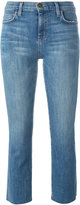 Current/Elliott skinny cropped jeans - women - Cotton/Polyester/polyester - 26