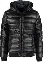 Solid Duky Winter Jacket Black
