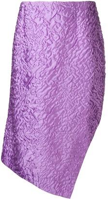 Aalto Textured Handkerchief Skirt