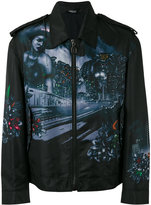 Lanvin printed jacket - men - Cotton/Polyamide/Viscose - 48