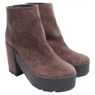 Vic Matié Brown Leather Ankle boots