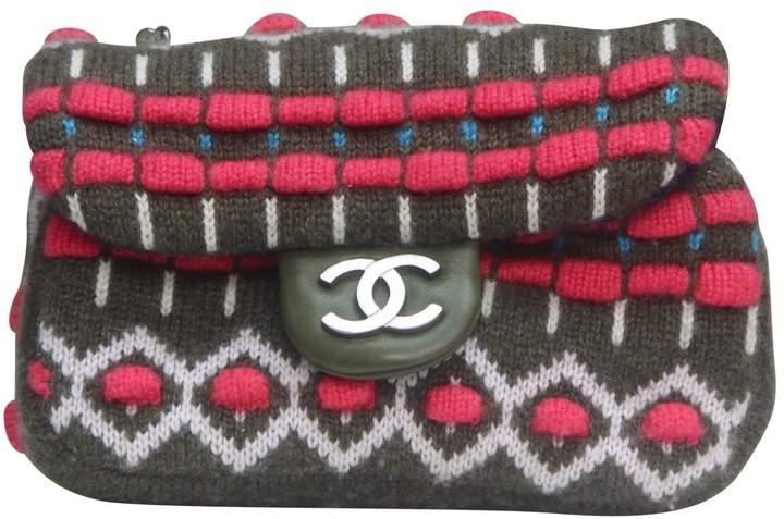 Chanel Timeless wool handbag