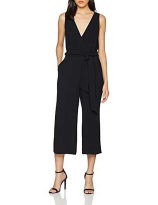 French Connection Women's Bessie Jumpsuit, (Black 1), (Size:--)
