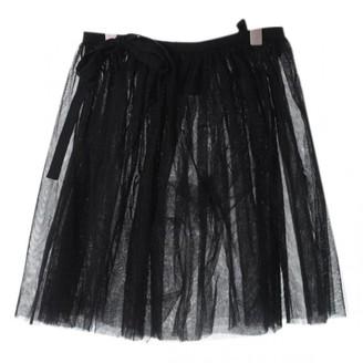 Comme des Garcons Black Cloth Skirt for Women
