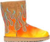 Jeremy Scott UGG x classic short flames boots