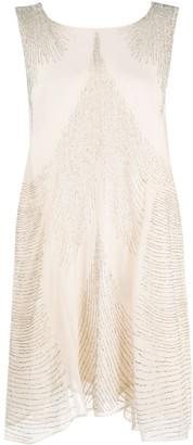 P.A.R.O.S.H. Bead-Embroidered Mini Dress