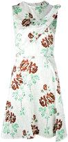 Victoria Beckham floral shift dress