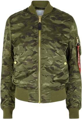 Alpha Industries MA-1 VF Camouflage Bomber Jacket