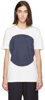 Blue Blue Japan White and Indigo Flag T-shirt