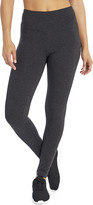 Bally Total Fitness Women's Active Pants H.CHARCOAL - 27'' Heather Charcoal High-Waist Tummy-Control Leggings - Women