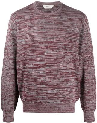Ermenegildo Zegna Jacquard Effect Sweater