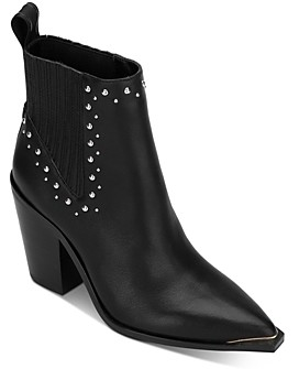 Kenneth Cole Women's West Side Studded Booties
