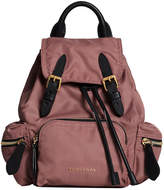 Burberry small Rucksack in technical nylon and leather