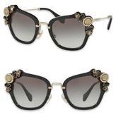 Miu Miu Hexagonal Sunglasses  miu miu women s sunglasses style